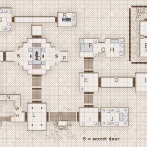 Mummy's Mask Maps: Tomb of Akhentepi (Ep. 2-5)
