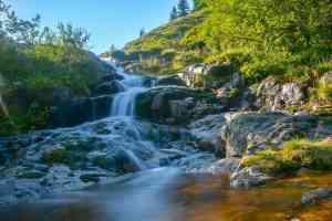 kleiner Wasserfall vor dem Elbfall