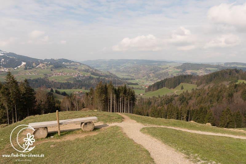 Geschafft - der Gipfelblick