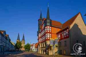 Rathaus Duderstadt und St. Cyriakus