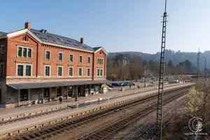 Bahnhof Blaubeuren - Start des Eiszeitjägerpfades