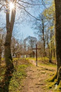 Kapelle und Kreuz