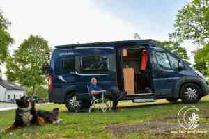 Wohnmobil im Sauerland