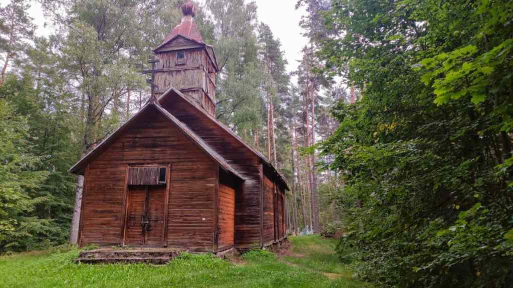 Die alte Holzkirche der Altgläubigen bei Krupeniscu