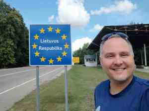 Ankunft in Litauen