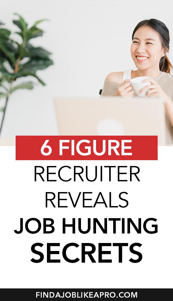 6 figure recruiter reveals job hunting secrets #recruiter #resumetips #getjob #jobsearch #gethired #jobs