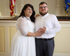 Katie & Josh - Celebrating their city hall wedding