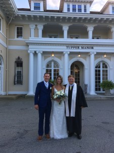 Emily and Bryant at Tupper Manor