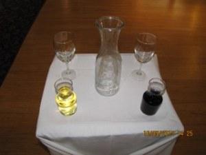 Blended wine ceremony