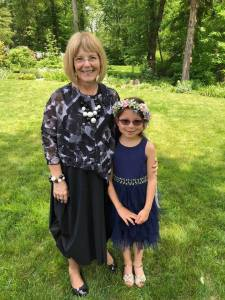 I welcomed a special assistant who turned my pages at her mom