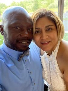 Uhia and Noemi Willis, May 2020