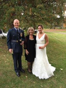 Groom is with the Royal Air Force, The Bee in Old Lyme