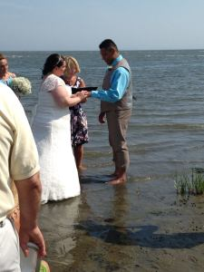 """Old Saybrook, literally """"in"""" the ocean. I always honor a request."""