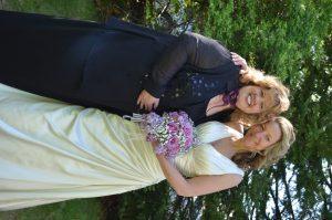 A beautiful May bride!