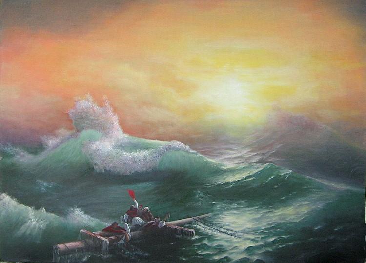 Այվազովսկի. «Իններորդ ալիք»