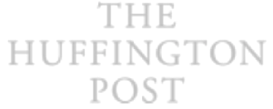 soft grey logo of The Huffington Post