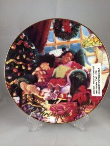 2000 Avon Christmas Plate - African American