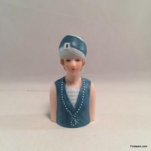 1927 Avon Fashion Thimble - Flapper