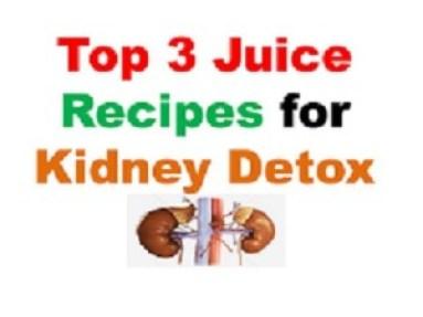 Juice Recipes for Kidney Detox