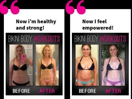 How to get a bikini body fast