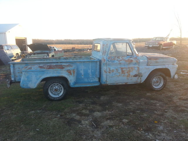 1965 chevy sidestep truck