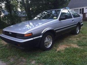 Toyota Corolla Hatchback 1984 Gray For Sale