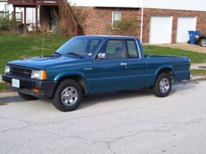 Mazda BSeries Pickups 1992 teal For Sale