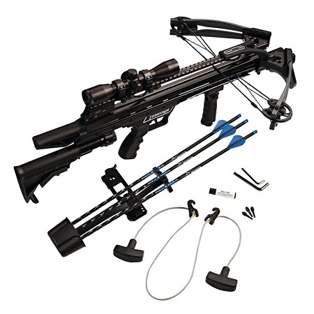 Carbon Express Crossbow Kit On White Background