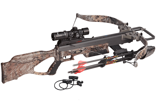 Excalibur Matrix 355 Crossbow Package On White Background