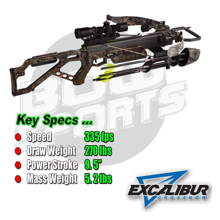 Excalibur Crossbow Micro 335 Features