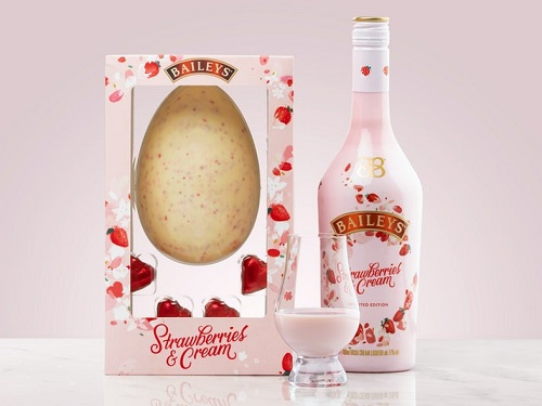 Baileys Strawberries & Cream Chokoladeæg Image