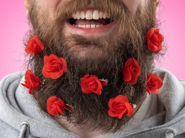 Beard Bouquet Skægdekoration Image