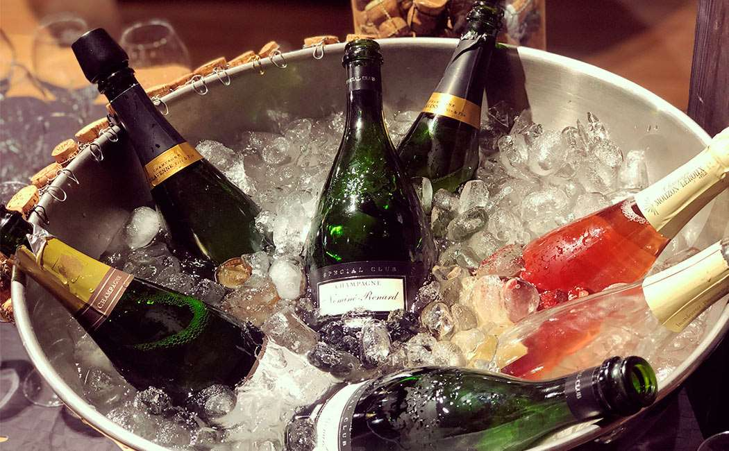 Champagnesmagning Image