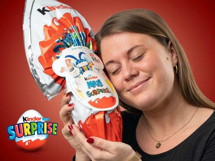 Kinder Maxi Surprise Kinderæg Image