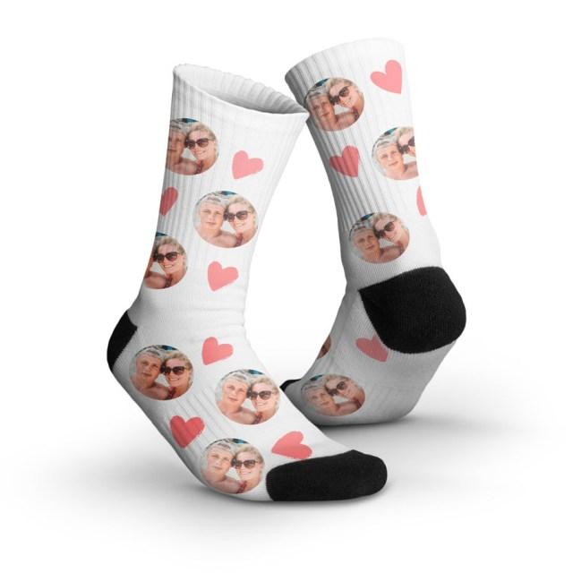 Personlige sokker med dit billede Image