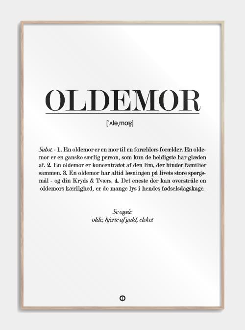 Plakat - Oldemor Image