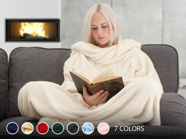 Snug Rug Deluxe tæppe med ærmer Image
