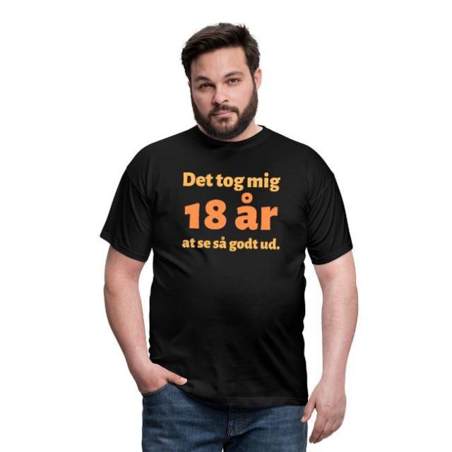 T-shirt, mand - Det tog mig 18 år at se så godt ud Image