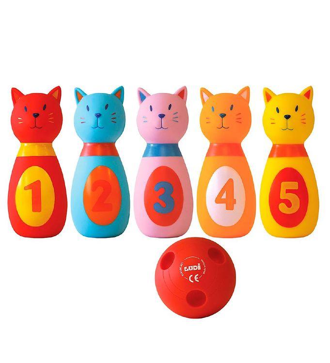 Ludi Bowlingsæt - Katte Image