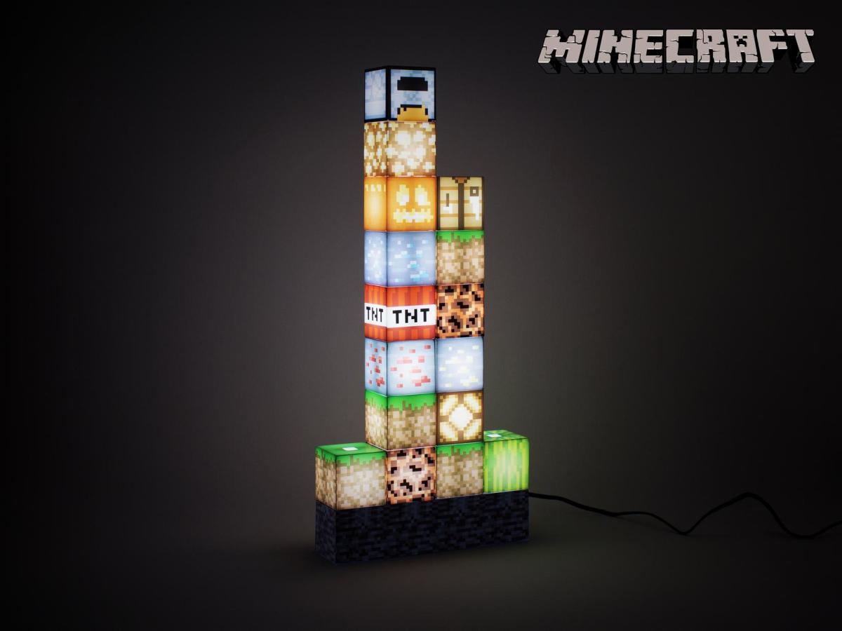 Minecraft Block Building Lampe Image