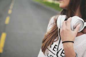 Gave til pigekæresten - høretelefoner