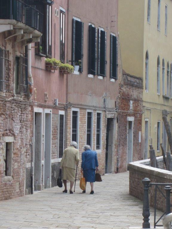 Women Walking Venice
