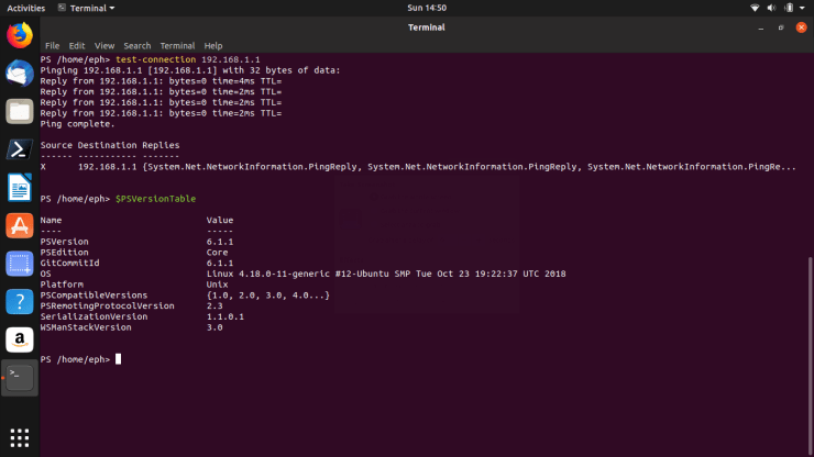 PowerShell on LINUX? 3