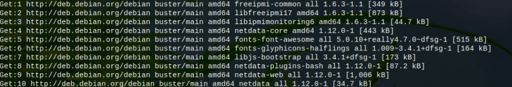 """Nifty Linux Monitoring Tool """"Netdata"""" 3"""