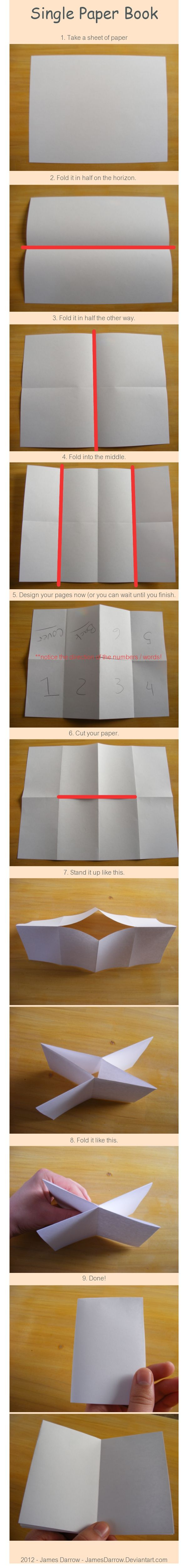 Booklet Instructions