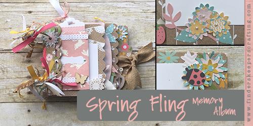 Spring Fling Memory Album Featured
