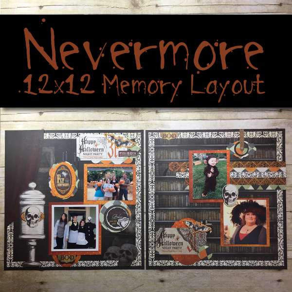 Nevermore 12x12 Memory Layout
