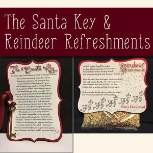 Santa Key & Reindeeer Refreshments Products