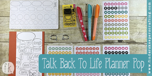 Talk Back To Life - Planner Pop - Featured