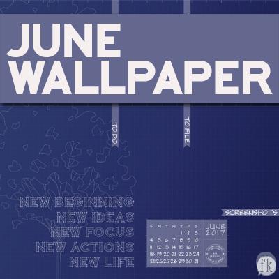 June Wallpaper - Featured